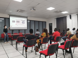 Schulung in Accra, Ghana, ©BlackForest Solution GmbH