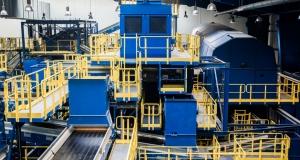 Der Weg zur modernen Abfallwirtschaft, Anlage der Sutco RecyclingTechnik GmbH