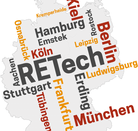 RETech Deutschland Karte
